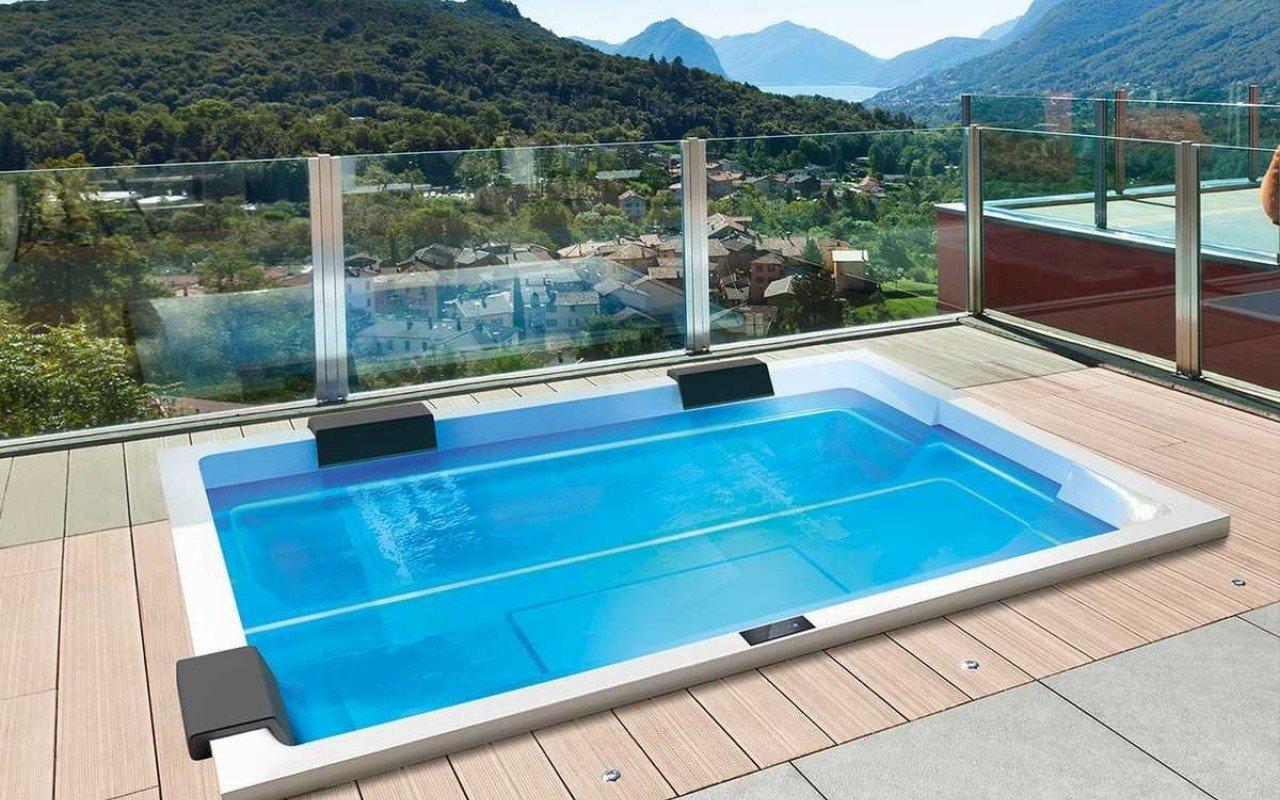 Aquatica Rest indoor/outdoor Spa Pro by Marc Sadler