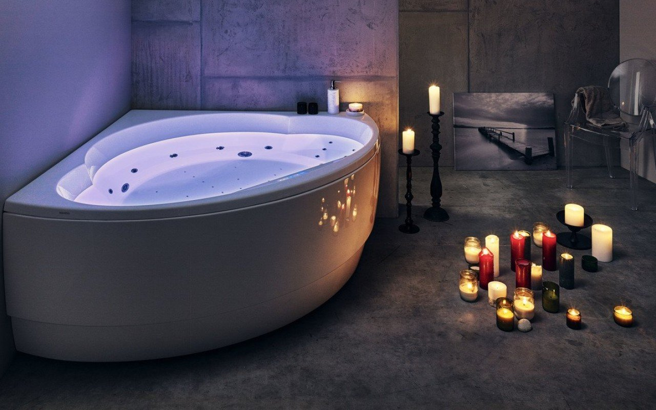 Aquatica Cleopatra-Wht HydroRelax Pro Jetted Bathtub