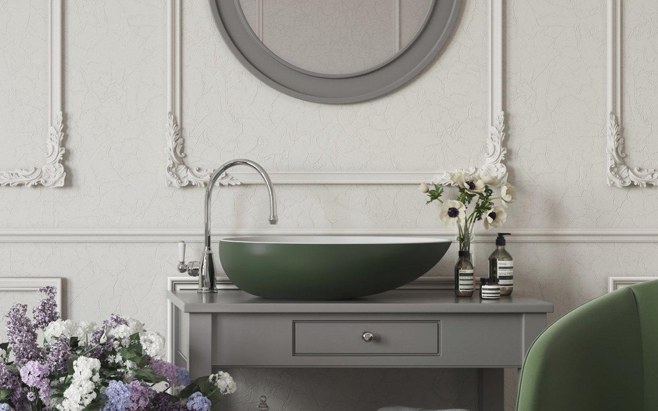 Aquatica Spoon 2 Moss Green Wht Stone Bathroom Vessel Sink 01 (web)