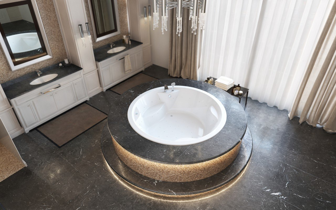 Allegra wht built in relax acrylic bathtub by Aquatica 02 (web)