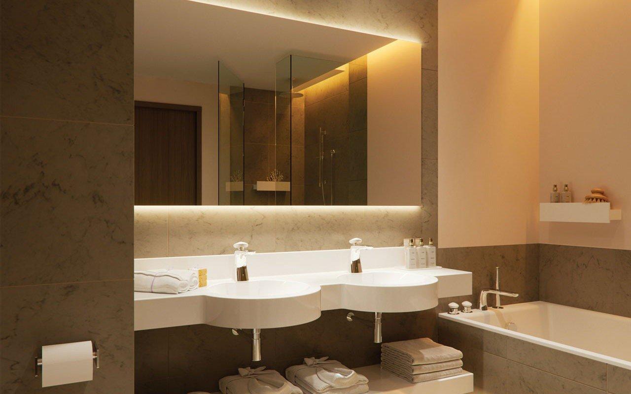 Aquatica Albi Double Stone Bathroom Sink
