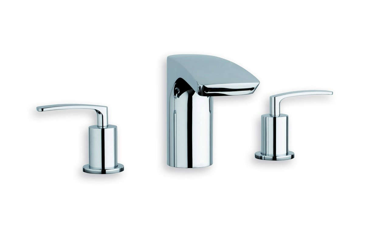 Aquatica Bollicine 3 Hole Deck Mounted Bath Filler (SKU 205) – Chrome