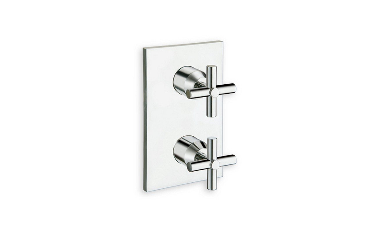 Celine-753 High Throughput Thermostatic Valve with Built-In Diverter and 3 Outlets picture № 0