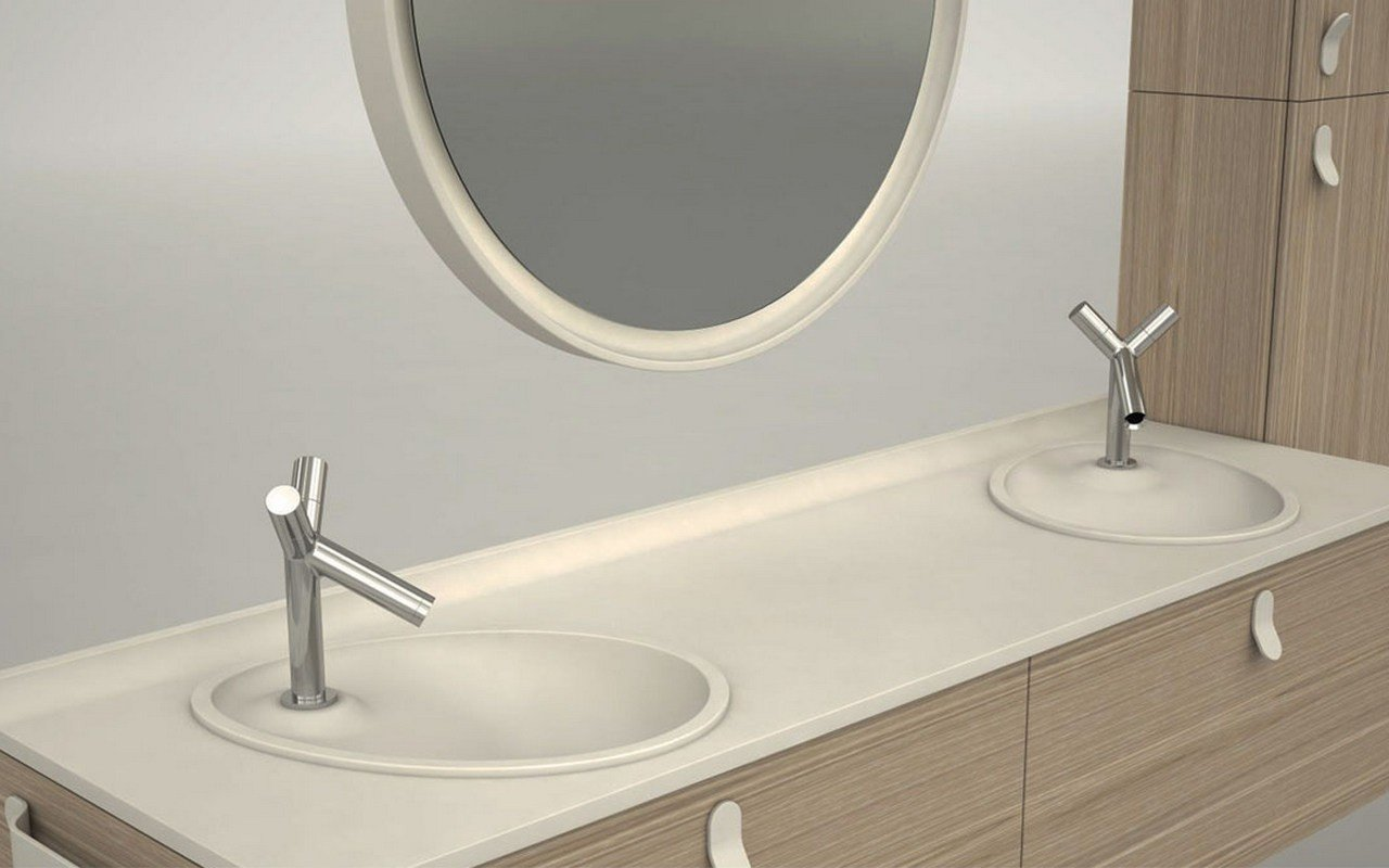 Aquatica OVO Stone Bathroom Sink 01