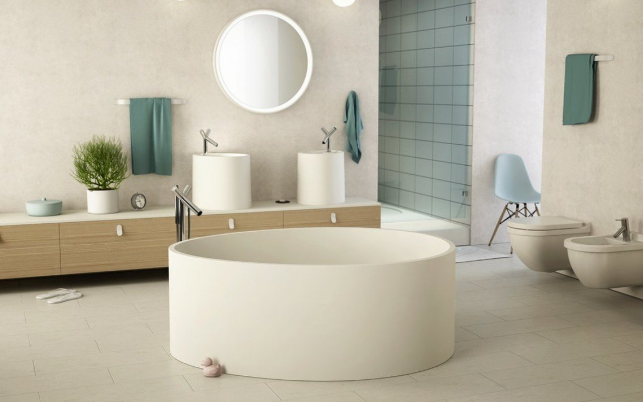 Aquatica OVO Stone Bathroom Vessel Sink