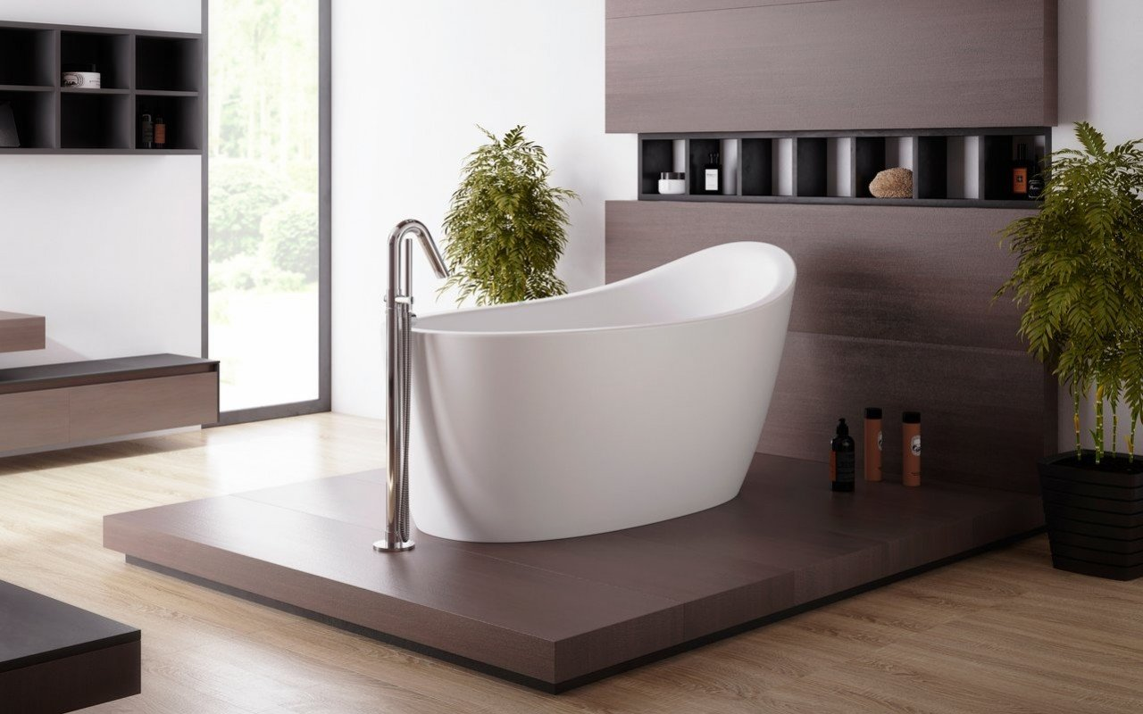 Aquatica Emmanuelle 2 Relax Solid Surface Air Massage Bathtub picture № 0