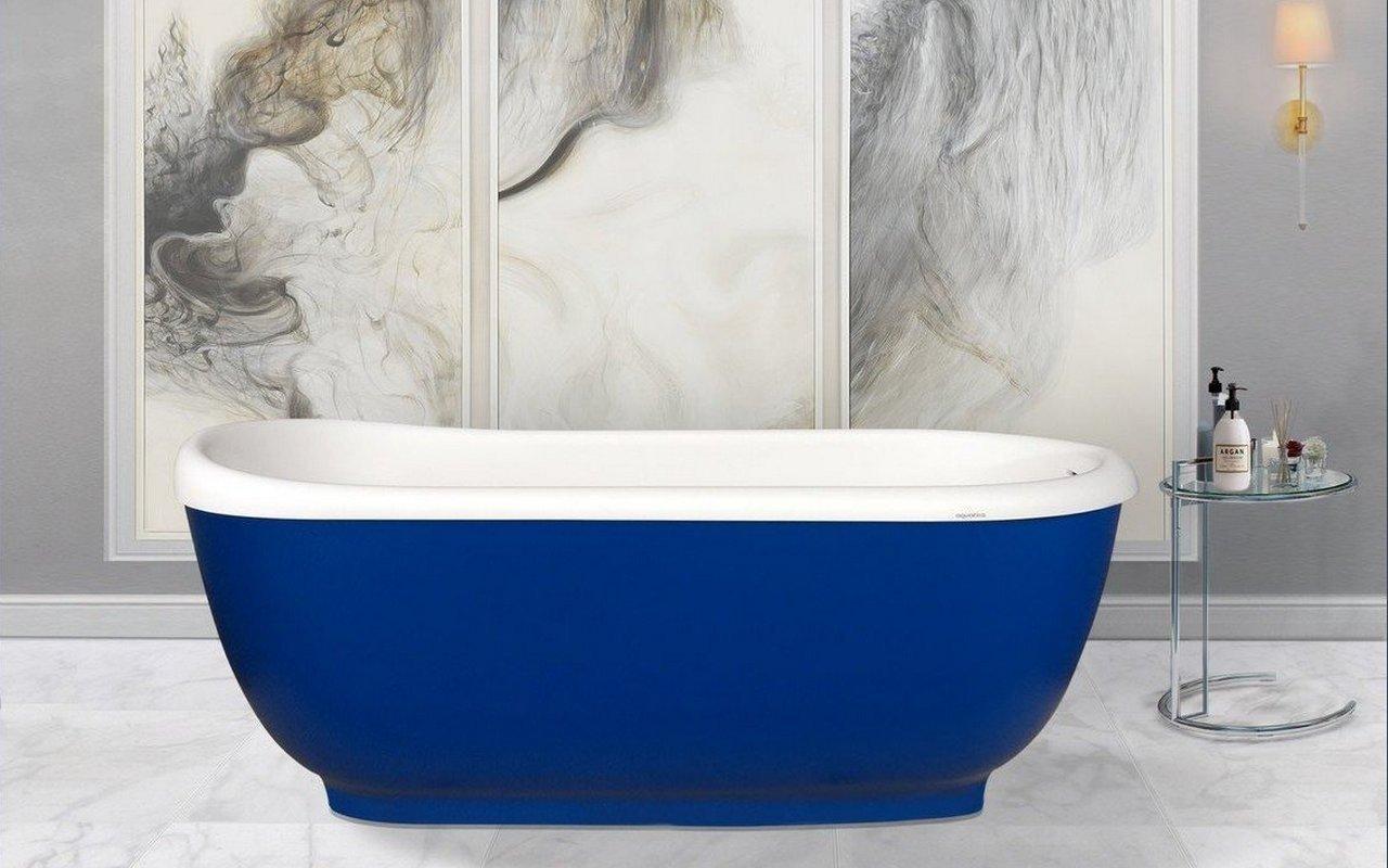 Aquatica Fido-Blue™ Freestanding Solid Surface Bathtub