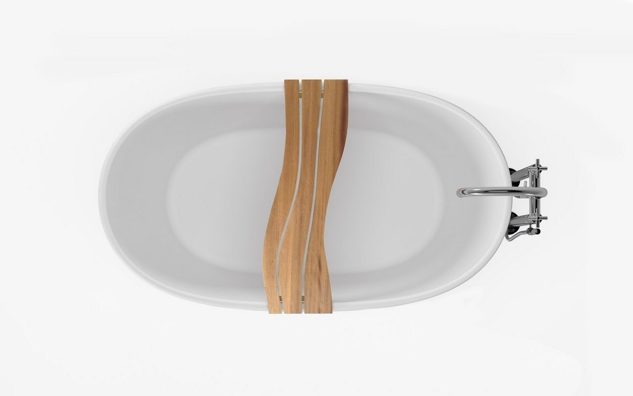 Aquatica Onde Waterproof Iroko Wood Bathtub Tray 05 (web)