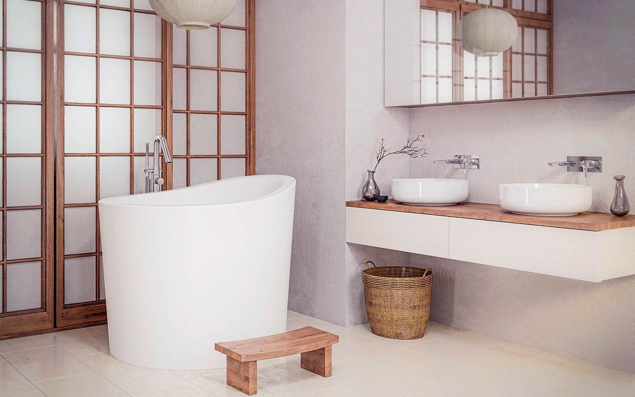 Aquatica True Ofuro Mini Freestanding Stone Japanese Soaking Bathtub web (1)