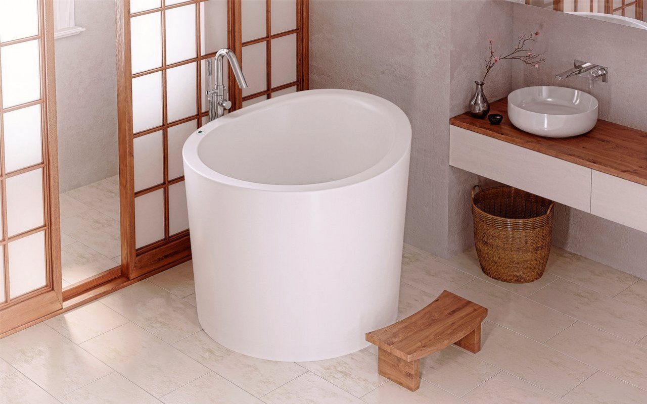 Aquatica true ofuro mini tranquility heating freestanding stone japanese bathtub 110v 01 (web)