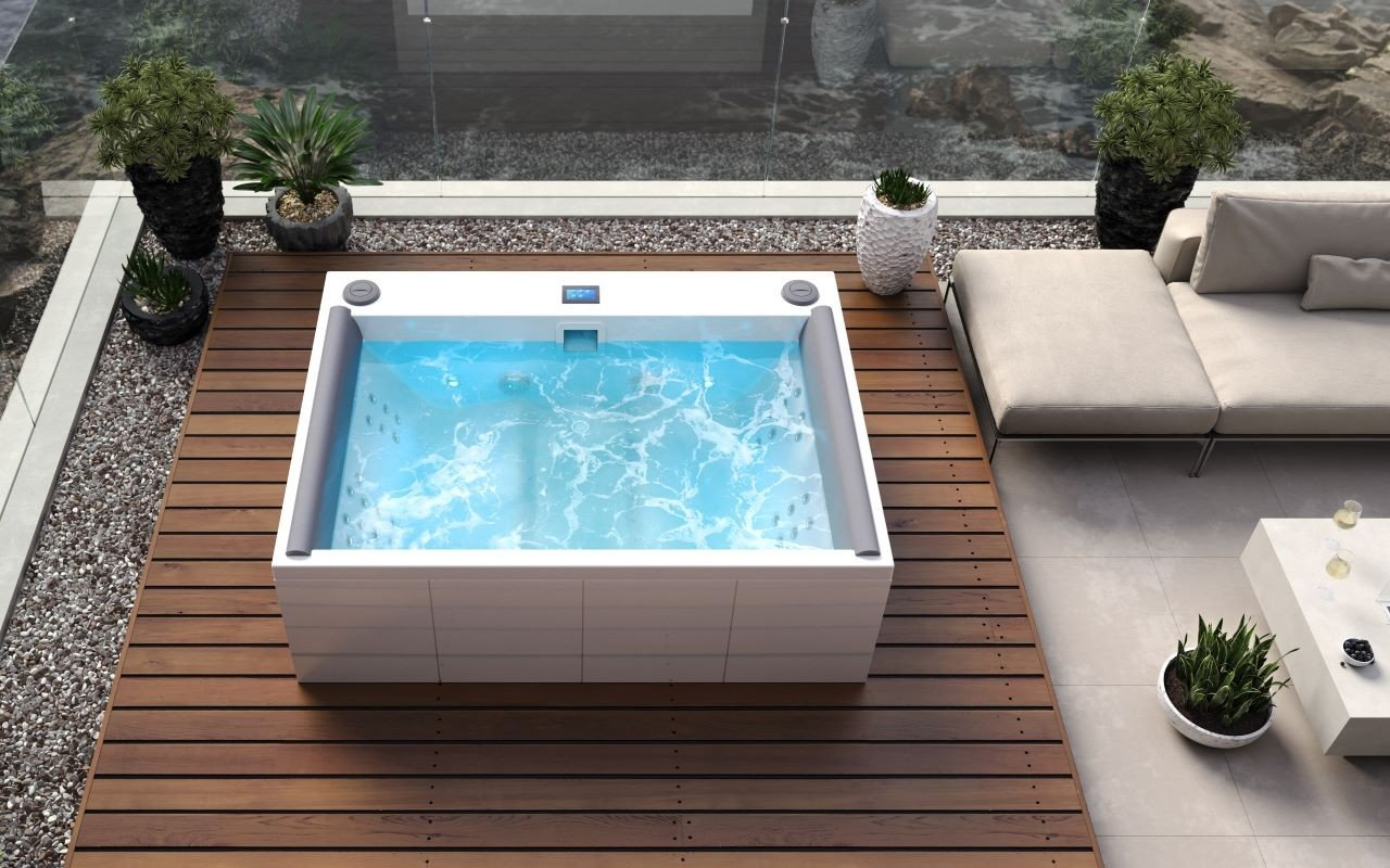Aquatica Downtown Spa With Maridur® White Composite Panel(220/240V/ 50/60Hz) picture № 0