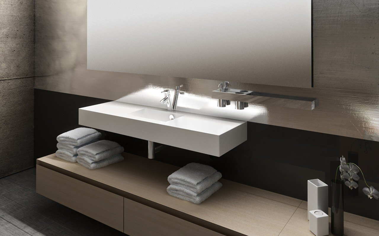 Axiom Stone Bathroom Sink 04