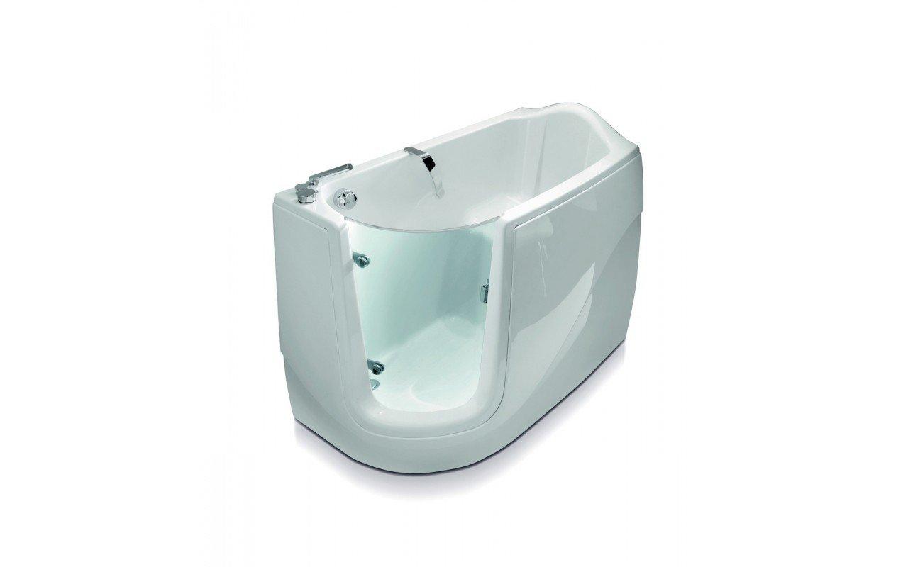 ᐈluxury Aquatica Baby Boomer L Corner Soaking Walk In Bathtub Best Prices Aquatica