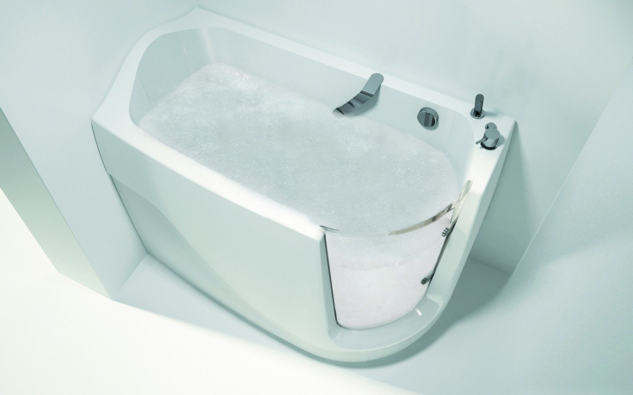 Aquatica Baby-Boomer-R™ Oxygen HydroRelax Jetted Walk-In Bathtub (US  version 110V/60Hz)