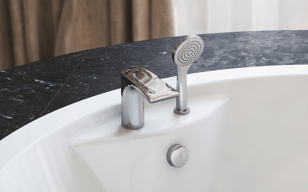 Aquatica Bollicine 2-Hole Deck Mounted Bath Filler (SKU-121) – Chrome