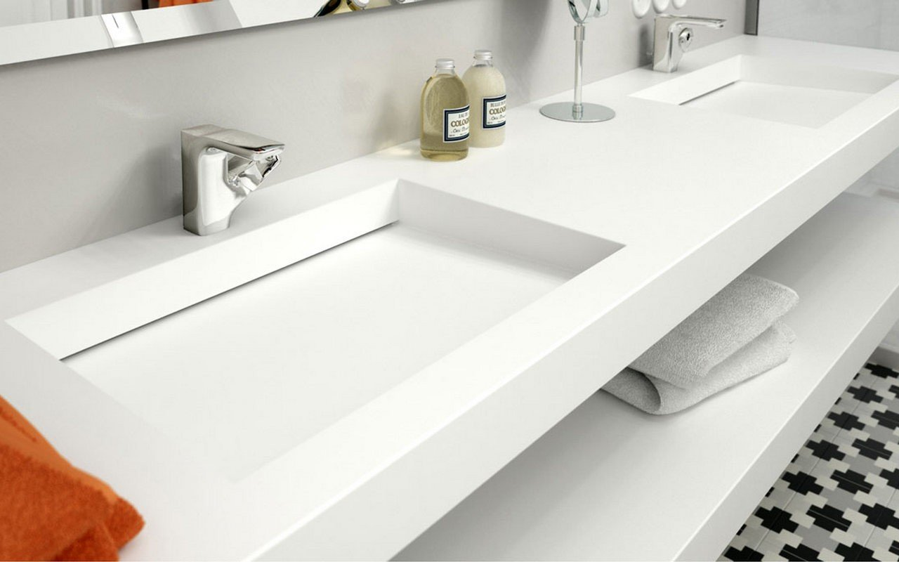 Carre Flexi customizable wall mounted washbasin 02