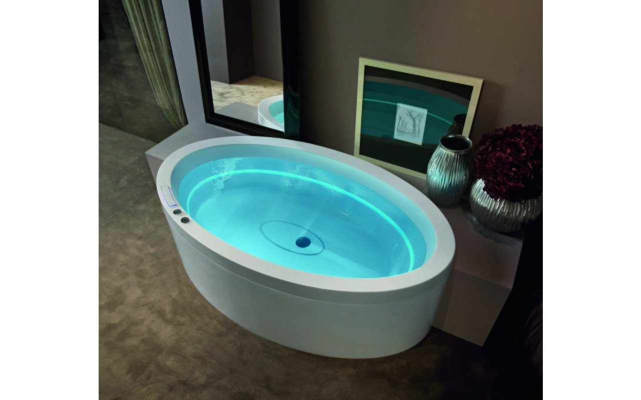 Aquatica Dream Ovatus HydroRelax Jetted Outdoor/Indoor Bathtub (US ...