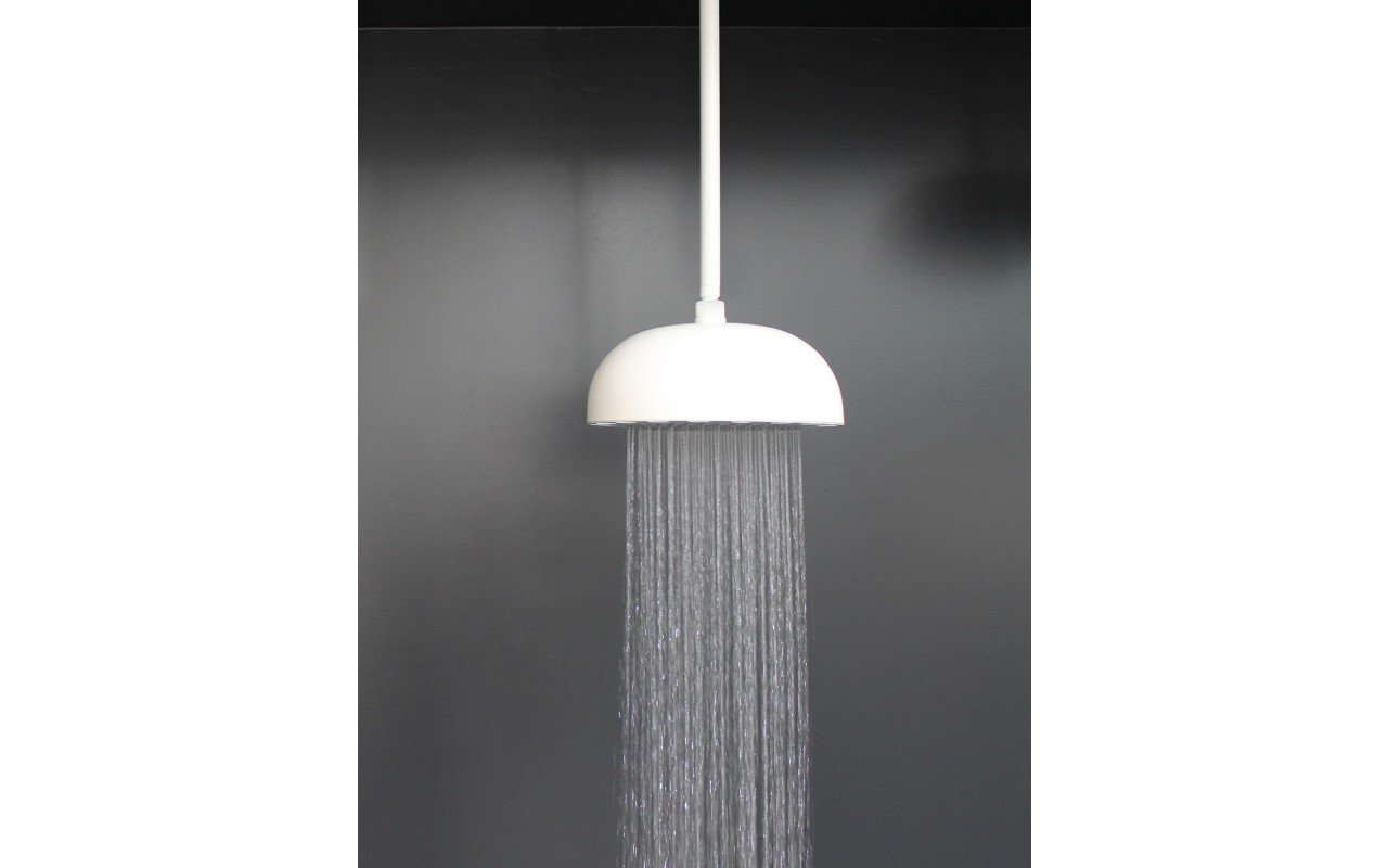 Dynamo WCRD-300 Top-Mounted Shower Head in White Matte picture № 0