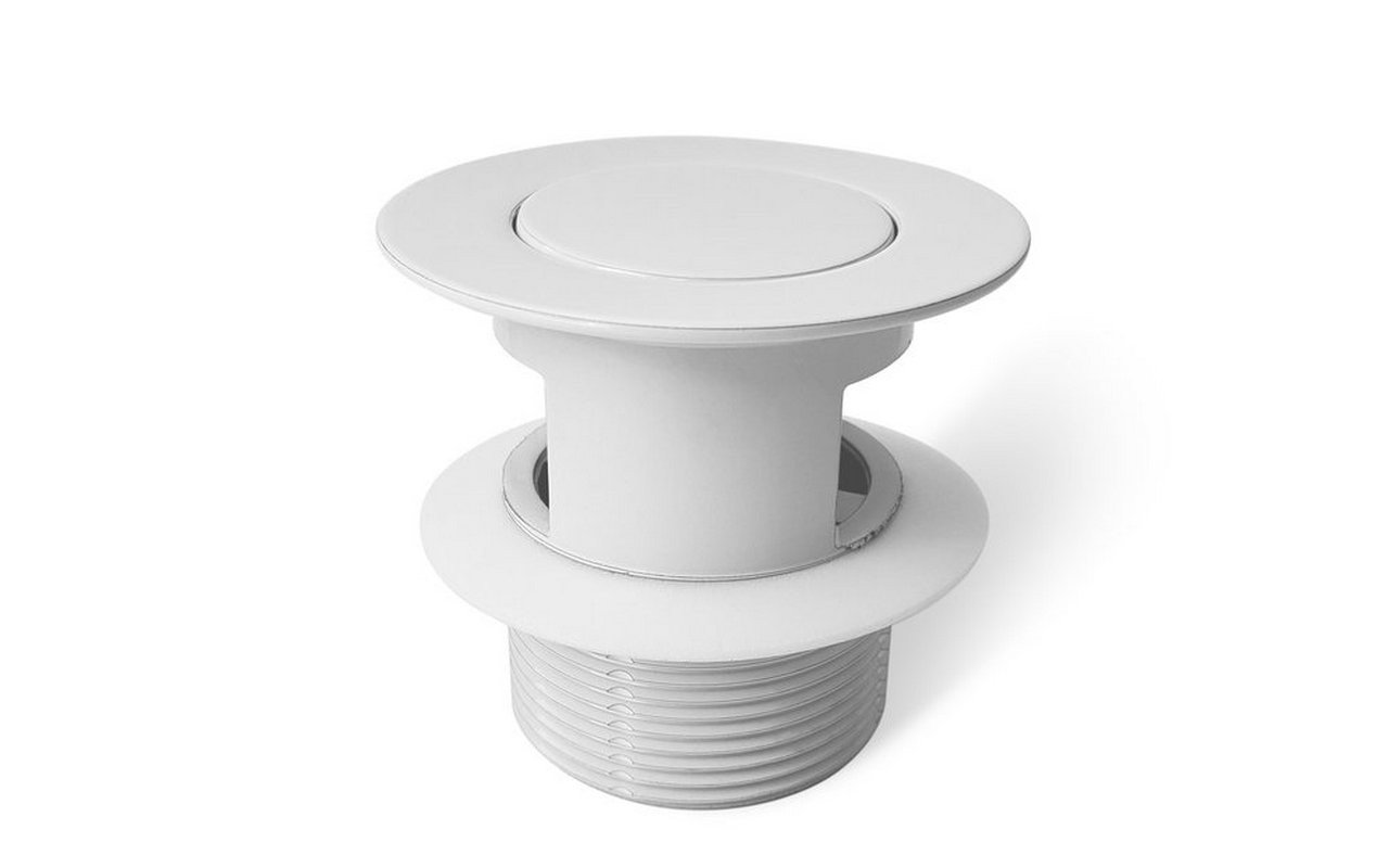 Euroflipper Wht Bathtub Drain (White Matte) 02 (web)