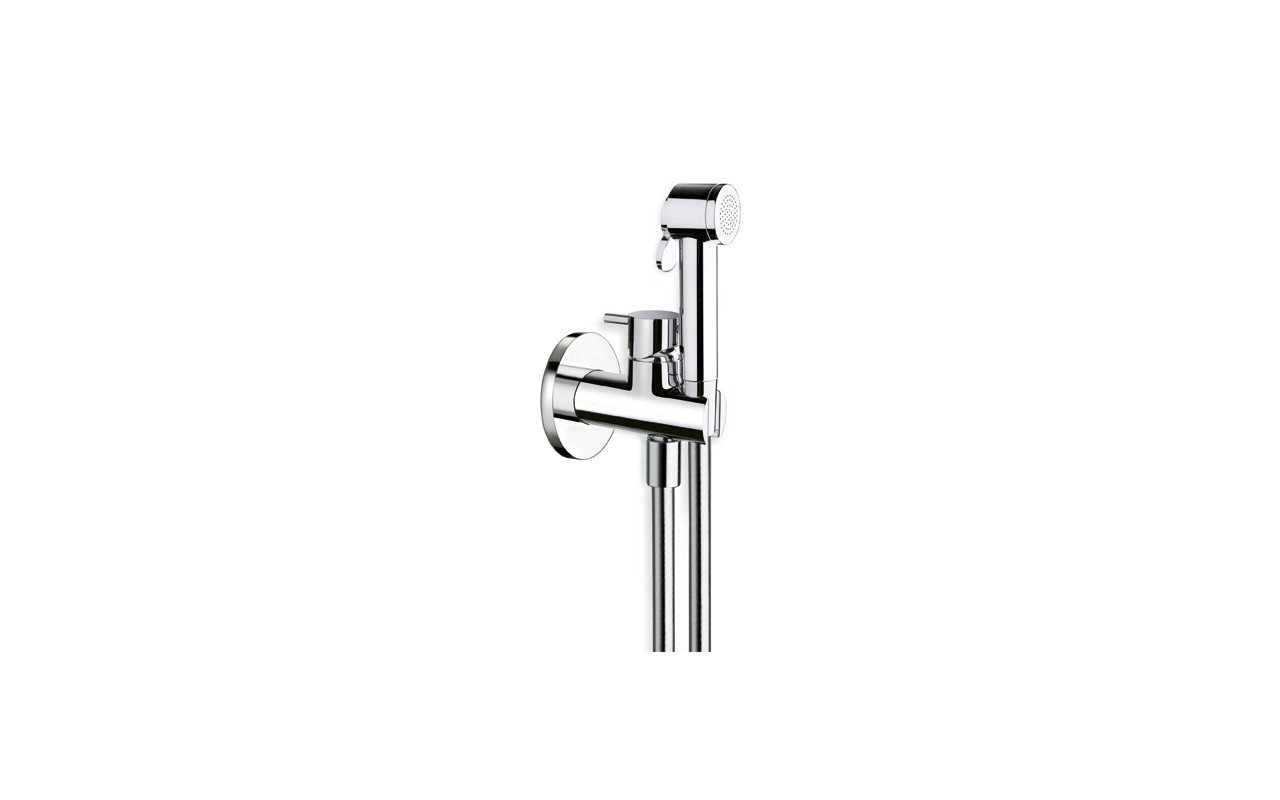 ᐈluxury Aquatica Gamma 676 Hand Held Wc Bidet Sprayer With Holder And Hose In Chrome Best Prices Aquatica