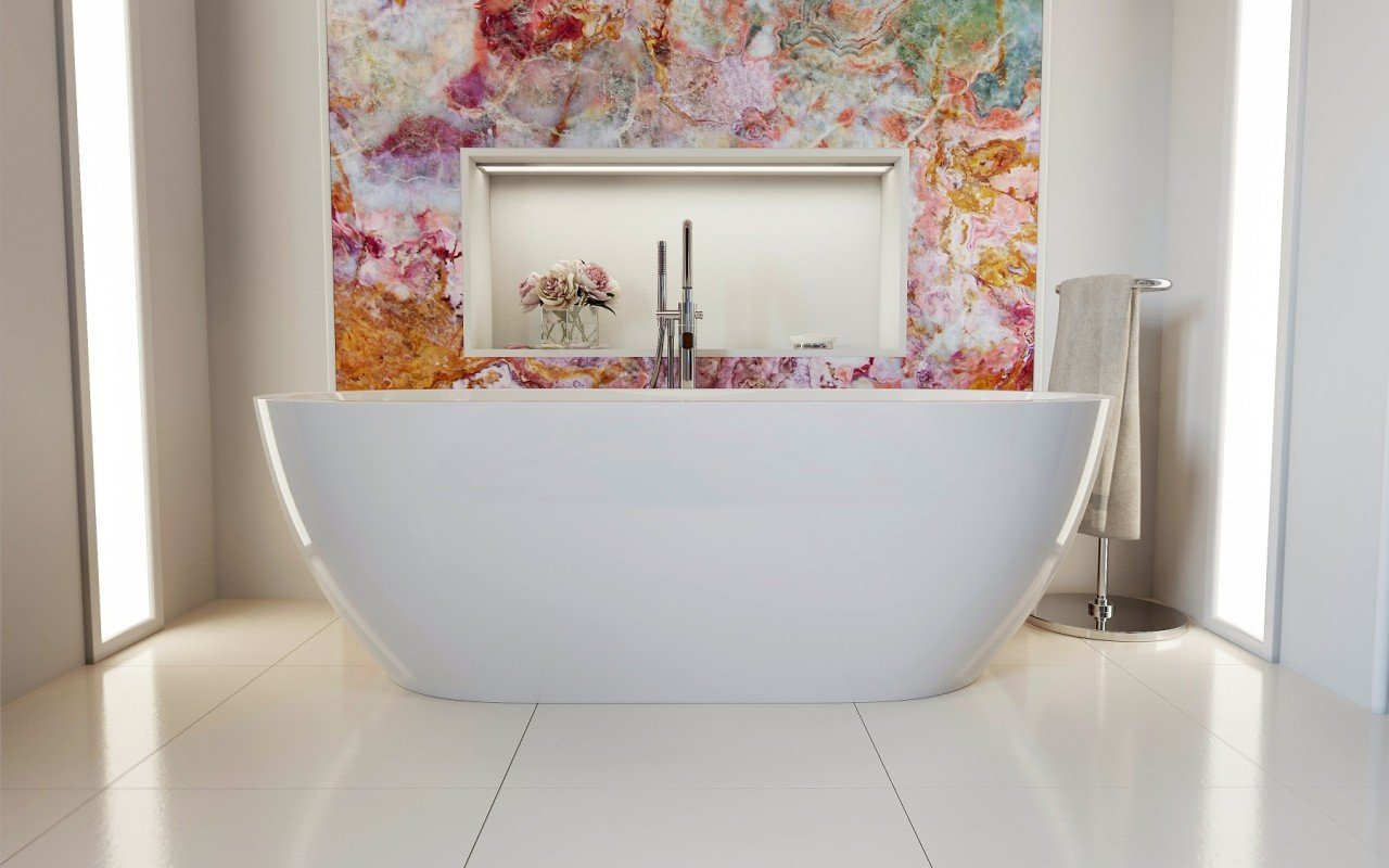 Aquatica Gloria 2 Freestanding Acrylic Bathtub picture № 0