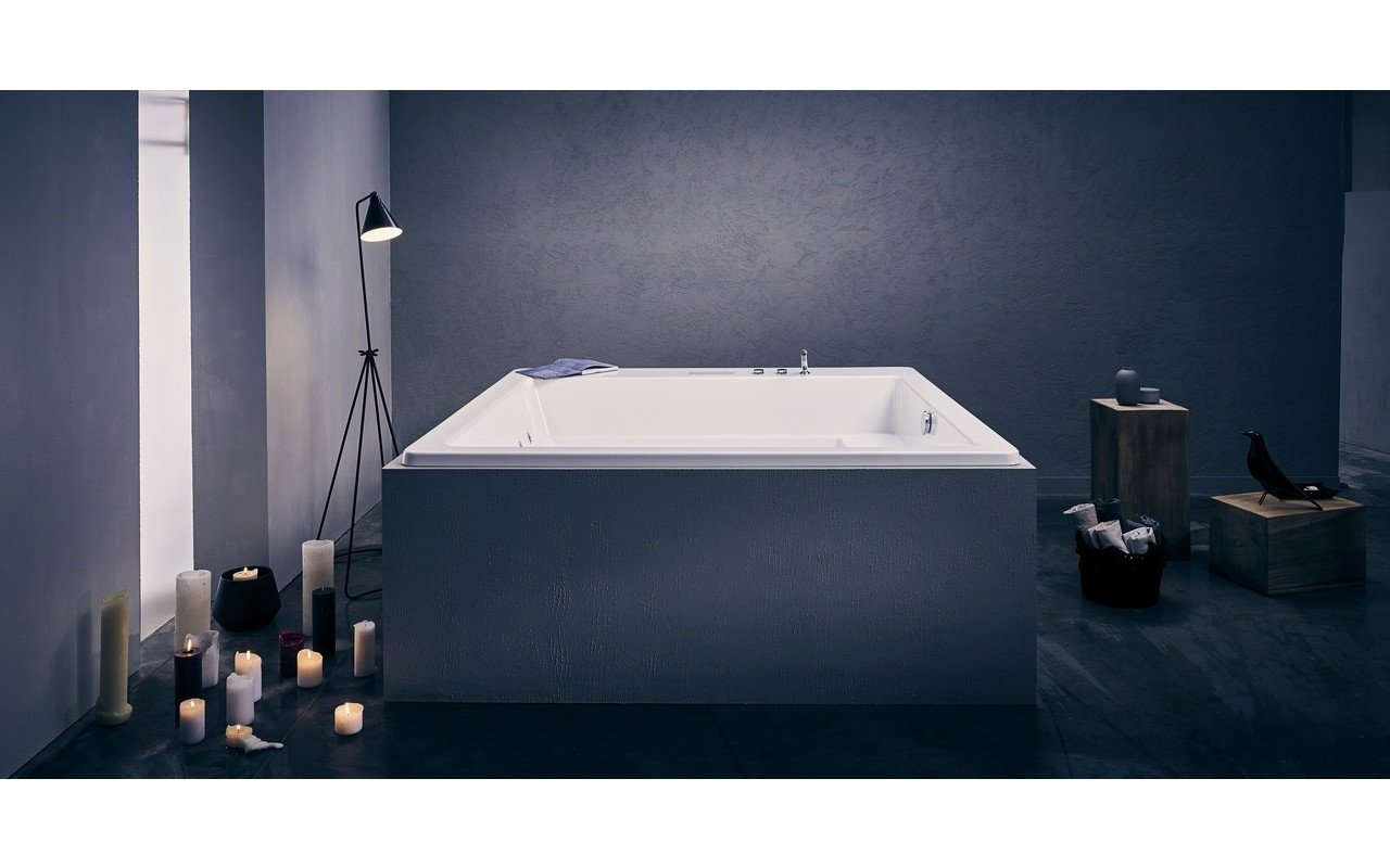 Lacus Wht Spa Drop In Jetted Bathtub 230V 50 60Hz USA International 02
