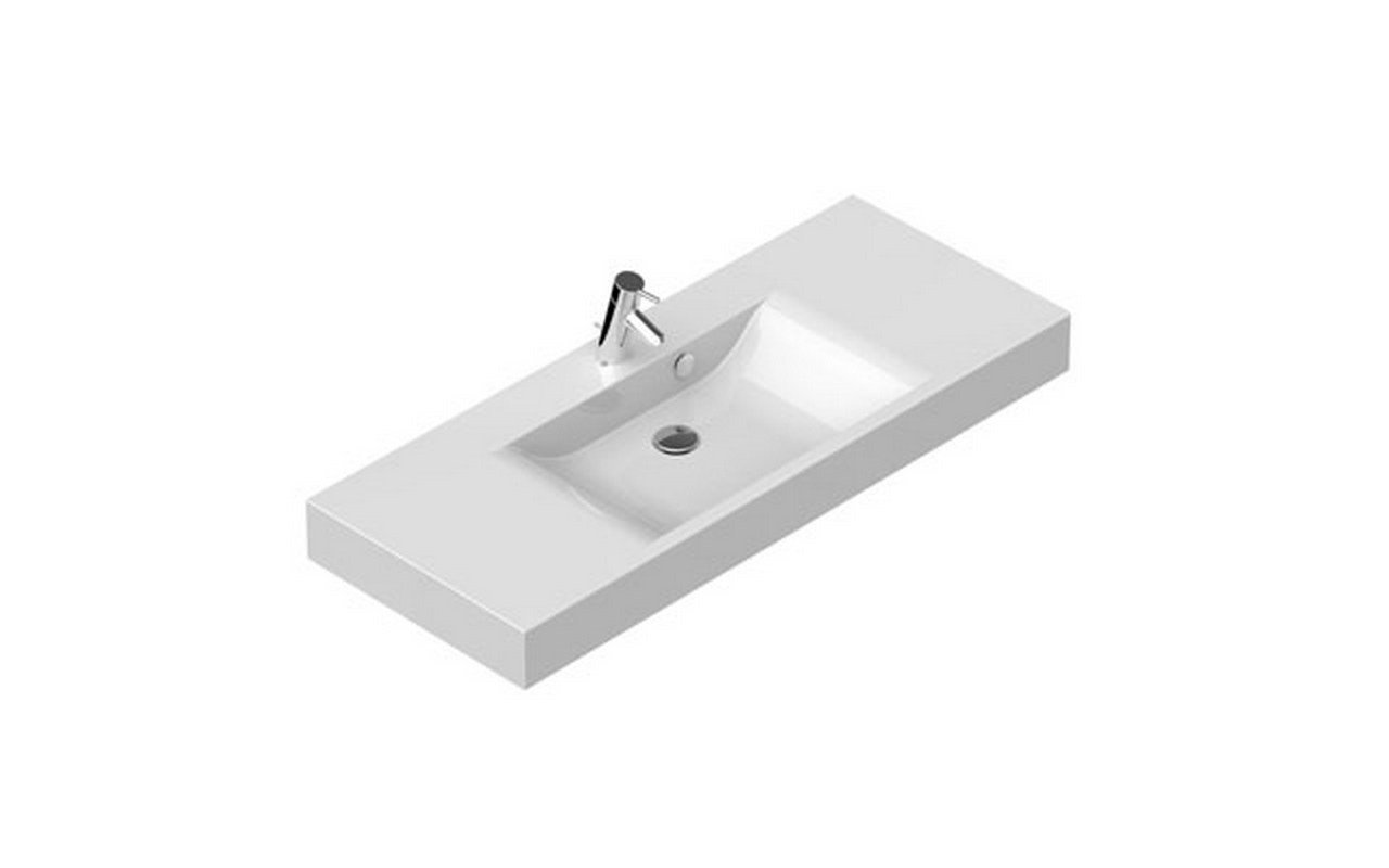 Maria 120 Stone Wall Mounted Washbasin 02