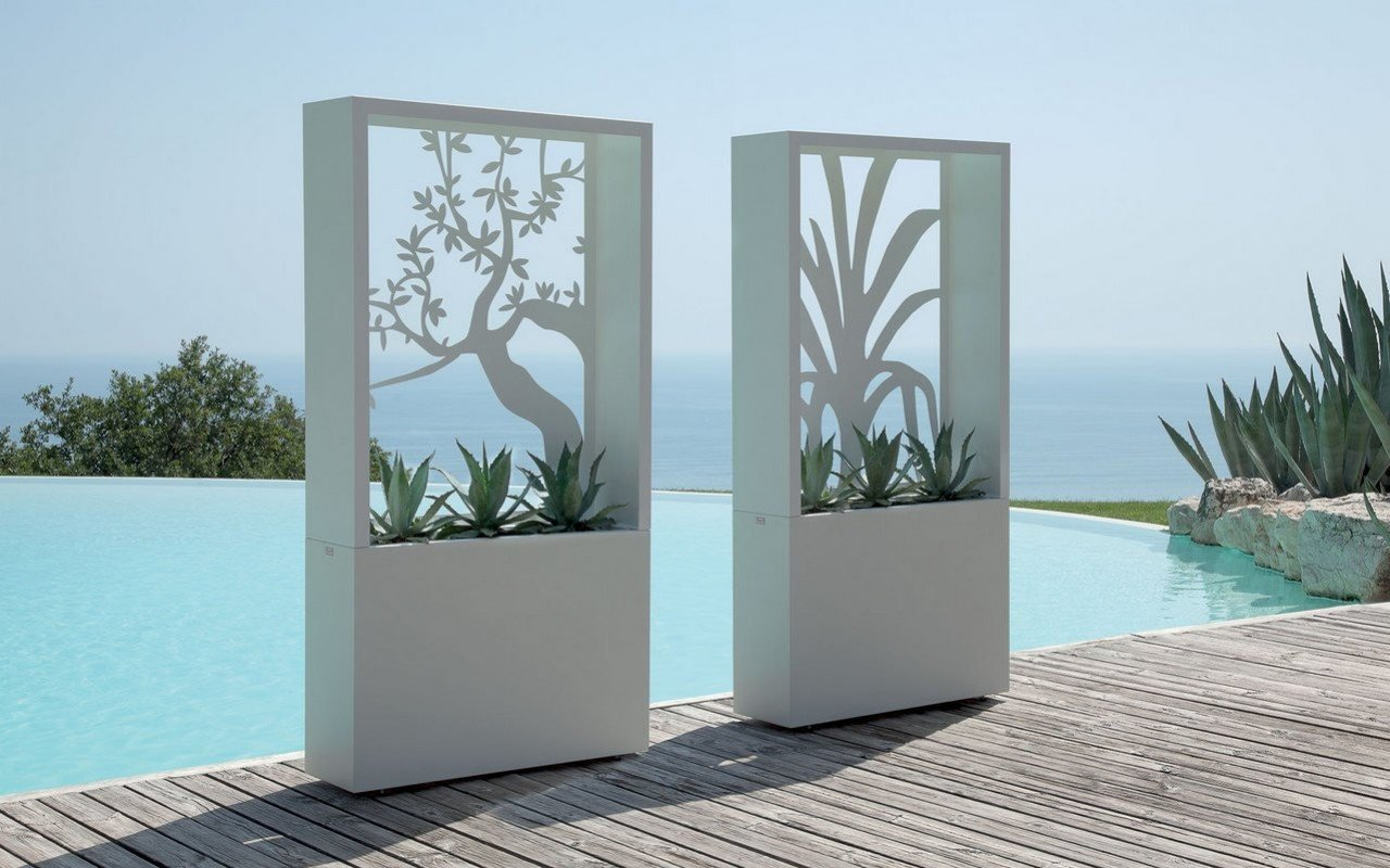 Olive Outdoor Decorative Planter Box by Talenti picture № 0