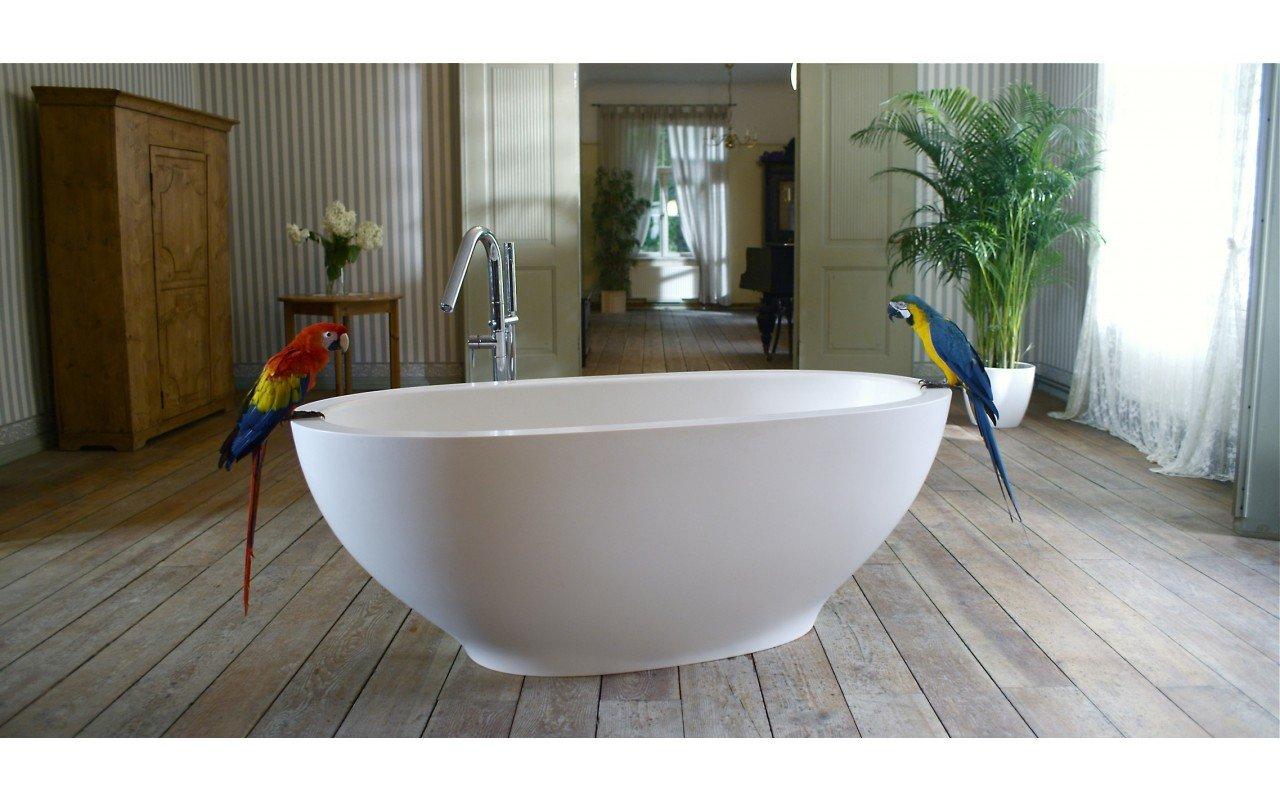 Aquatica Karolina™ Freestanding Solid Surface Bathtub