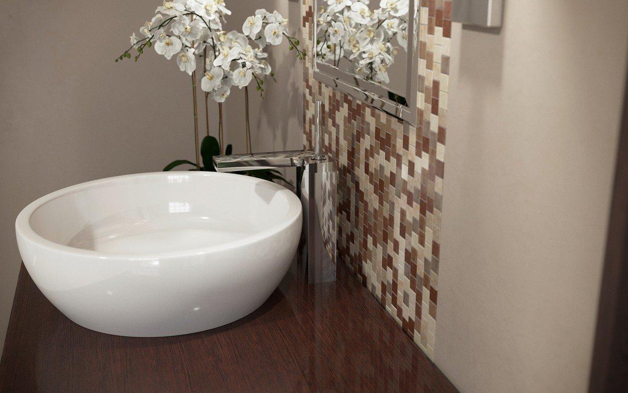 ᐈluxury 【aquatica Texture Bowl Wht Round Ceramic Bathroom Vessel Sink】 Best Prices Aquatica