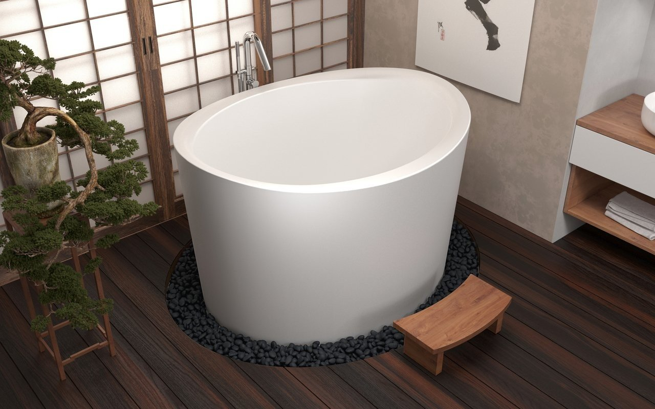 True Ofuro Duo Freestanding Stone Japanese Soaking Bathtub 03 (web)