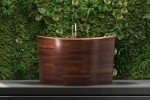 Aquatica True Ofuro Duo Wooden Freestanding Japanese Soaking Bathtub 07