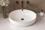 Aquatica Aurora Wht Oval Stone Bathroom Vessel Sink01
