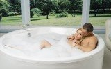 Allegra Round Freestanding Bathtub 5