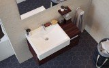 Aquatica Kandi Cube Stone Counter Top Washbasin 05