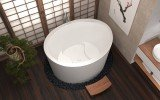 True Ofuro Duo Freestanding Stone Japanese Soaking Bathtub 05 (web)