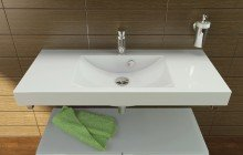 Aquatica Publica Stone Bathroom Sink 01