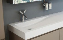 Aquatica Vincent Stone Bathroom Sink 01