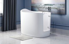 Aquatica Baby Boomer 2 Freestanding Solid Surface Walk In Bathtub 04 (web)