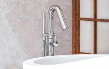 Aquatica colonna 120 floor mounted tub filler web 03