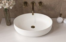 Small White Vessel Sink picture № 10