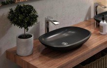 Matte Black Vessel Sink picture № 3