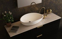 Small Oval Vessel Sink picture № 2