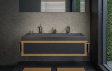 Matte Black Vessel Sink picture № 9