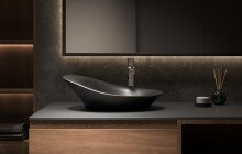 Matte Black Vessel Sink picture № 10