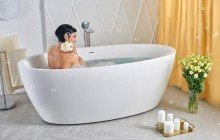 Oval Freestanding Bathtubs picture № 27