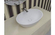 Small White Vessel Sink picture № 8