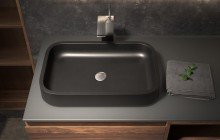 Matte Black Vessel Sink picture № 11