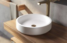 Small White Vessel Sink picture № 16