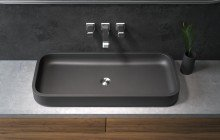 Matte Black Vessel Sink picture № 13